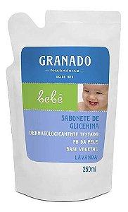 REFIL SABONETE GLICERINA LAVANDA GRANADO