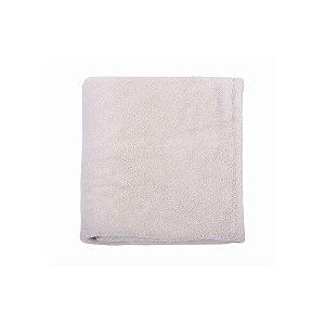 Cobertor De Microfibra Cinza 1,10m X 85cm Mami