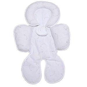Capa Anatômica Para Bebê Conforto E Carrinho Avião de Papel Mami
