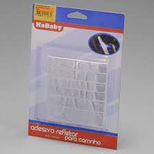 Adesivo Refletor Para Carrinho Com 16 Unidades KaBaby