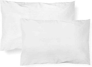 Kit De Fronha Malhas Lisa 02 Un Branco Papi