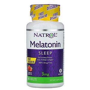 Melatonina Sleep 3mg Natrol