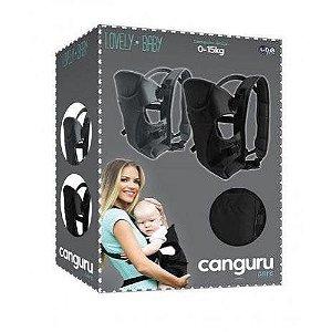 Canguru Care Lovely Baby Cinza Unik Baby