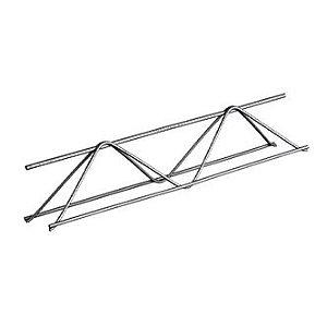 Treliça H10 (Ø 6Mm Superior/Ø 4.2Mm Diagonal/Ø 4.2Mm Inferior), Altura 10 Cm, Comprimento 12 Metros