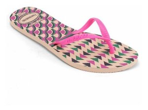 CHINELO HAVAIANAS FLAT MIX FC ROSA BALLET