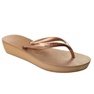 SANDÁLIA HAVAIANAS HIGH LIGHT ROSE GOLD