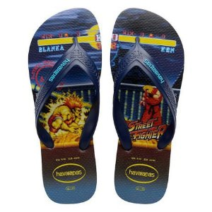 HAVAIANAS TOP MAX STRET FHIGHITER AZUL