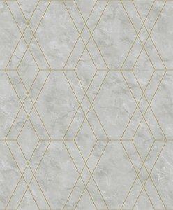 Papel De Parede Modern Maison MM557701 - 0,53cm x 10m