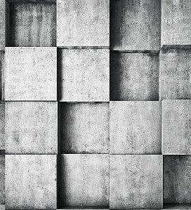 Papel De Parede Modern Maison MM277701 - 0,53cm x 10m