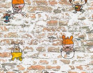 Papel de Parede Boys & Girls 369871 - 0,53cm x 10m