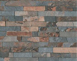 Papel de Parede Wood'n Stone 355823 - 0,53cm x 10,05m