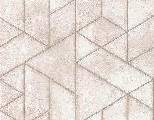 Papel de Parede Unis, Geo et Faux 11180707 - 0,53cm x 10m