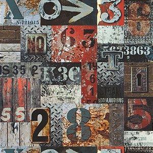 Papel de Parede Les Aventures 4 51171510 - 0,53cm x 10,05m