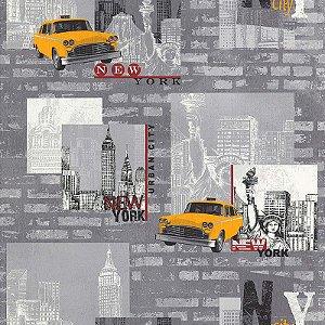 Papel de Parede Les Aventures 4 12102002 - 0,53cm x 10,05m