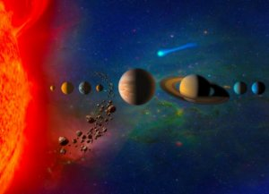 Painel Fotográfico Planeta - 2,40 A x 3,00 L
