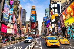Painel Fotográfico Times Square - 2,50 Largura x 2,60 Altura