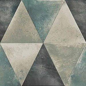 Papel de Parede Hexagone L625-01 - 0,53cm x 10m