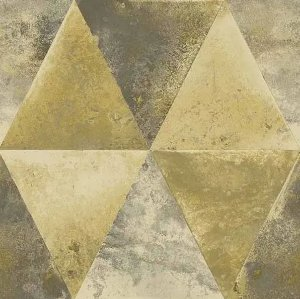 Papel de Parede Hexagone L625-02 - 0,53cm x 10m