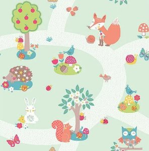 Papel de Parede Imagine Fun I 667200 - 0,53cm x 10m