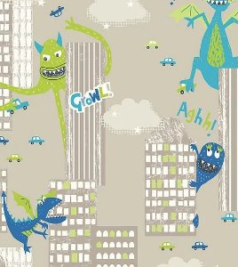 Papel de Parede Imagine Fun I 667700 - 0,53cm x 10m