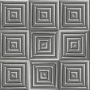 Papel de Parede Hexagone L446-09 - 0,53cm x 10m