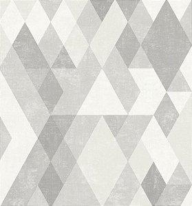 Papel de Parede Hexagone L598-09 - 0,53cm x 10m
