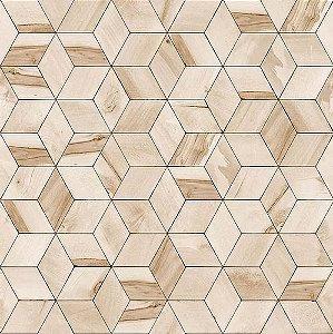 Papel de Parede Hexagone L592-07 - 0,53cm x 10m