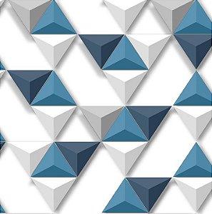 Papel de Parede Hexagone L575-01 - 0,53cm x 10m