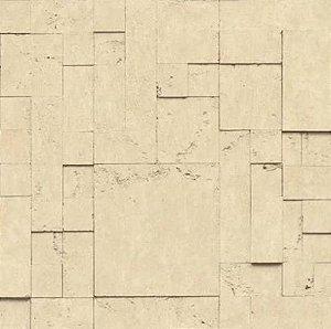 Papel de Parede Hexagone L589-07 - 0,53cm x 10m