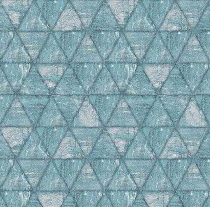 Papel de Parede Hexagone L617-01 - 0,53cm x 10m