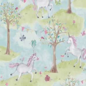 Papel De Parede Little Ones 54205 - 0,53cm x 10m