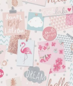 Papel De Parede Little Ones 54207 - 0,53cm x 10m
