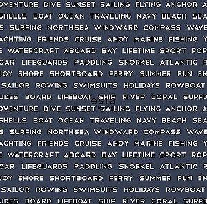 Papel de Parede Regatta Crew 138961 - 0,53cm x 10m