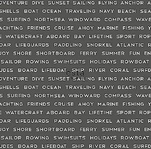 Papel de Parede Regatta Crew 138962 - 0,53cm x 10m