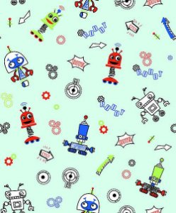 Papel de Parede Pure Kids & Teens KT68452 - 0,53cm x 10m