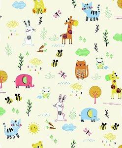 Papel de Parede Pure Kids & Teens KT68456 - 0,53cm x 10m