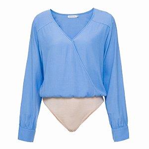Body Louise Azul Celeste