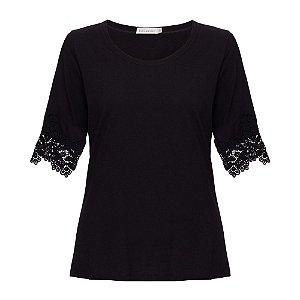 Camiseta Eva Preta
