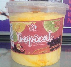 Sorvete Tropical 1,5L de Maracujá