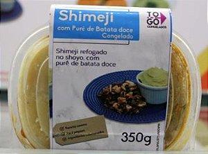 Shimeji com Purê de Batata Doce 350g