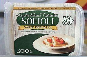 Sofioli Primavera - Mussarela, Tomate Seco e Brócolis 400g