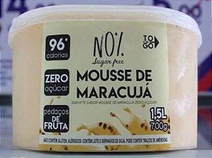 Sorvete Zero Açúcar de Mousse de Maracujá 1,5 litros
