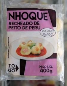 Nhoque Recheado de Peito de Peru 400g