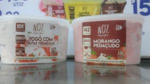 Kit 2 Potes Sorvete Zero Açúcar - Sabores a escolher!