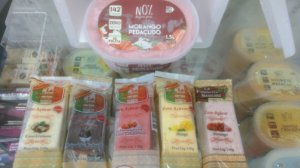 Kit Sorvetes Fitness Zero Açúcar