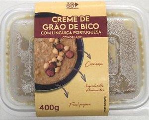 Creme de Grão de Bico com Linguiça Portuguesa 400g