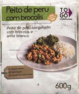 Peito de Peru com Brócolis 600g