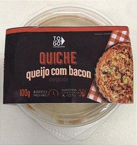 Quiche de Queijo com Bacon 100g