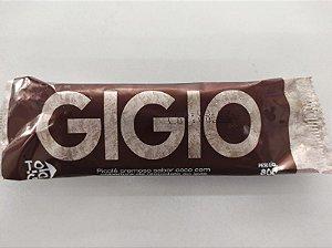 Picolé Gigio - Cobertura de Chocolate