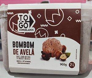 Sorvete Artesanal Bombom de Avelã 2 litros